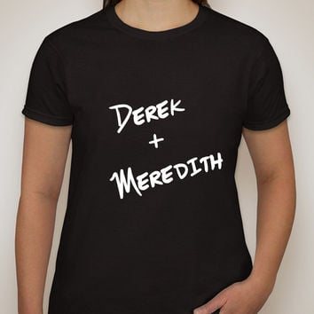 "Grey's Anatomy ""Derek + Meredith"" T-Shirt"