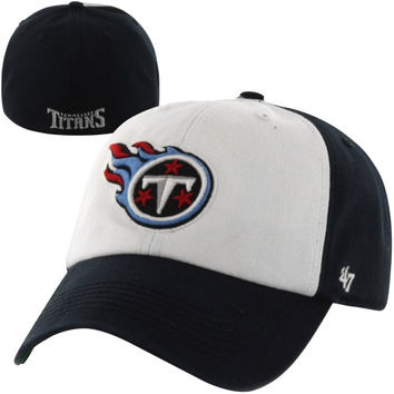 Tennessee Titans '47 Brand Classic Freshman Franchise Fitted Hat – Navy Blue/White