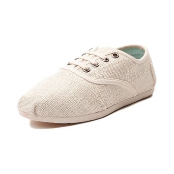 Womens TOMS Cordones Metallic Casual Shoe