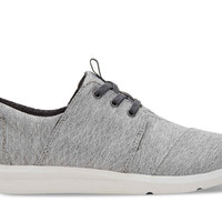 TOMS Grey Diamond Melange Del Ray Shoes
