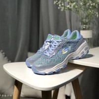 """""""Skechers"""" Women Fashion Lace Breathable Thick Bottom Sneakers Casual Running Shoes"""
