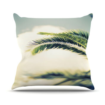 "Ann Barnes ""Summer Breeze"" Nature Photography Outdoor Throw Pillow"