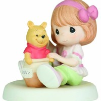 "Precious Moments/Disney ""Hunny, You Are Always Full Of Sweet Surprises!"" Figurine"