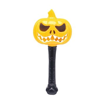 Halloween Pumpkin Ghost Magic Wand Luminous Witch Wand Funny Children Toys-A