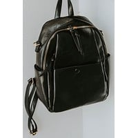 Ophelia Convertible Back Pack (Black)