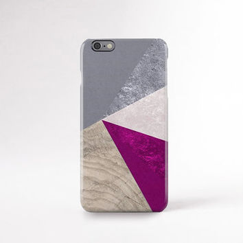 Designer IPhone 6 Case Plus Wood Print Geometric Cases Pantone Iphone