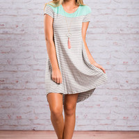 Easy Philosophy Dress, Mint