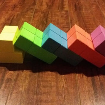 Magnetic Wooden Blocks 20 pieces