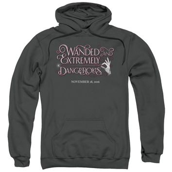 Fantastic Beasts - Wanded Adult Pull Over Hoodie Officially Licensed Apparel