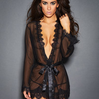 Stephanie Sheer Robe with Panty