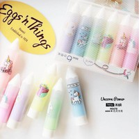 Unicorn Mini Colorful Candy Color Highlighters