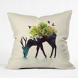 Budi Kwan Watering A Life Into Itself Throw Pillow