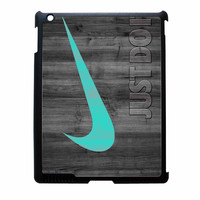 Nike Mint Just Do It Wooden iPad 3 Case