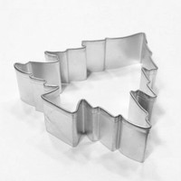 Pine Tree 3.75 inch Metal Cookie Cutter