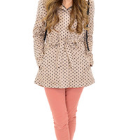 Dots A Lot Jacket :: NEW ARRIVALS :: The Blue Door Boutique