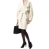 Balmain Oversized Wool-Cashmere Coat | Harrods