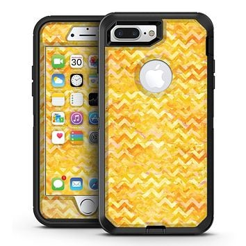Yellow Basic Watercolor Chevron Pattern - iPhone 7 Plus/8 Plus OtterBox Case & Skin Kits