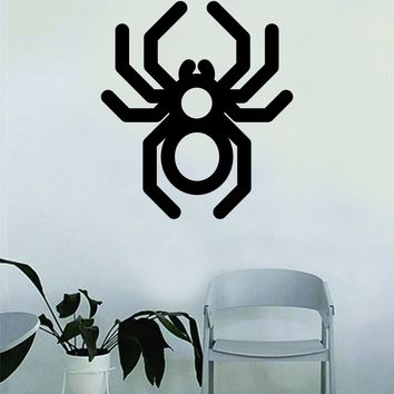 Spider Insect Bug Spiderweb Wall Decal Sticker Vinyl Art Bedroom Living Room Decor Teen Boy Girl