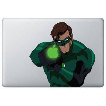 Green Lantern  Mac Decal Mac Sticker Macbook Decals by GoodDecal
