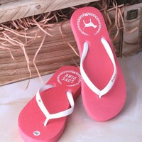 Victoria's Secret PINK Woman Beach Slipper Sandals Shoes