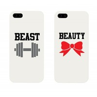 Beauty and Beast Couples Matching Cell Phone Cases for iphone 4, iphone 5, iphone 5C, Galaxy S3, Galaxy S4, Galaxy S5