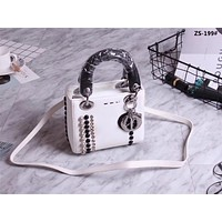 DIOR WOMEN'S NEW STYLE LEATHER HANDBAG SHOULDER BAG