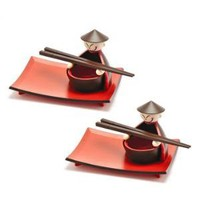 Sushi Service for Two Gift Set at Wrapables - Dinnerware Sets