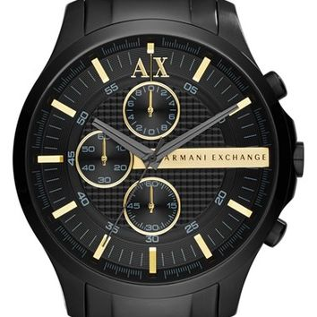 Men's AX Armani Exchange Chronograph Bracelet Watch, 46mm