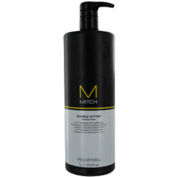 Paul Mitchell Mitch Double Hitter Sulfate Free 2-In1 Shampoo & Conditioner 33.8 Oz