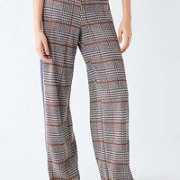 UO Side Striped Plaid Pant | Urban Outfitters