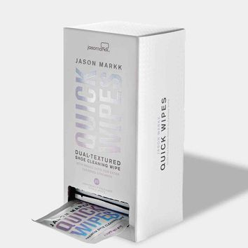 Quick Wipes - 30 Pack | Jason Markk Premium Shoe Care