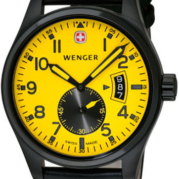 Wenger Men's Swiss Made AeroGraph Vintage Watch 72472