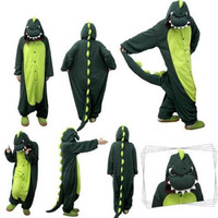 Unisex Cute Dinosaur One Piece Jumpsuit Sleepwear