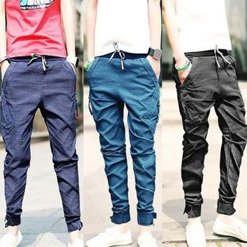 VONGB5 Mens Harem Pants  Tapered Drop Crotch Cuffed Jogger Casual Trousers  SV004023 = 1904265092