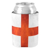 England flag can cooler