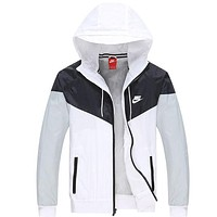 NIKE men and women tide brand casual sportswear jacket coat windbreaker sportswear F