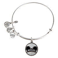 Mickey Mouse Bangle by Alex and Ani - Silver