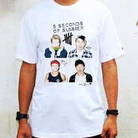 5 Seconds of Summer Doodle Poster