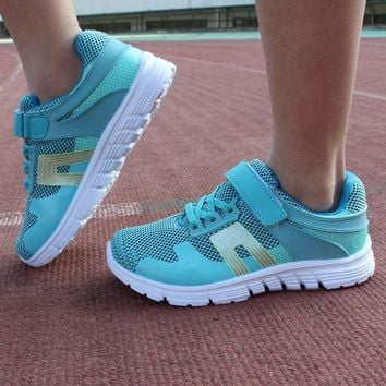Girls traveling shoes boys school shoes kids outdoor breathable sneakers kids sport running shoes athletic sneakers