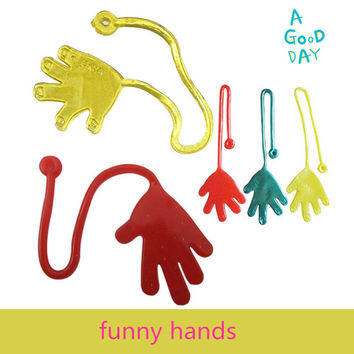 Novelty products toy slime Viscous Climbing one piece Action Figure funny gadgets PVC for kids Anyoutdoor