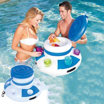 Inflatable Ice Bucket for Cold Beverages