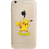 Pokemon Pikachu Jelly Clear Case For Apple Iphone 6/6s (4.7-Inch)