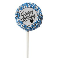 Happy Birthday Chocolate Covered Oreo Pop
