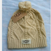 """UGG""hot sale warm hat Khaki"