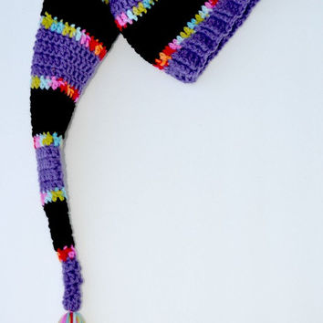 Long Stocking Hat, Child Size, Ready To Ship