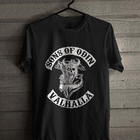 Sons Of Odin Valhalla  Shirt For Man And Woman / Tshirt / Custom Shirt