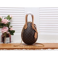 LV Louis Vuitton WOMEN'S MONOGRAM CANVAS EGG HANDBAG SHOULDER BAG