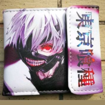Brand New Japan Anime Tokyo Ghoul Wallet