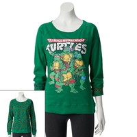 Freeze Reversible Teenage Mutant Ninja Turtles Juniors' Sweatshirt, Size: