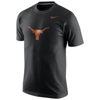 Texas Longhorns Nike Logo T-Shirt – Black